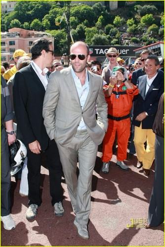 Jason Statham: Formula One Grand Prix Practice!