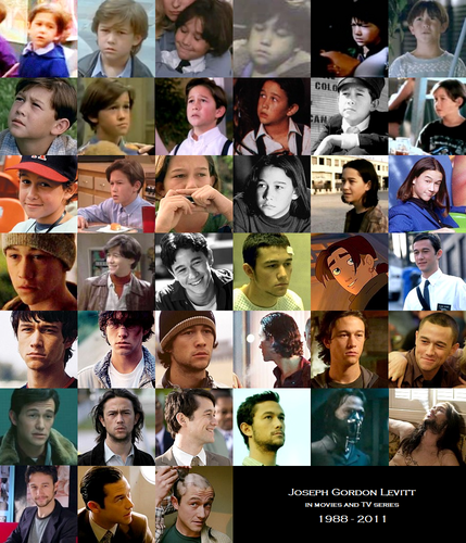 Joseph Gordon Levitt on the screen (1988 - 2011)