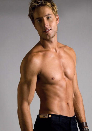 Justin Hartley wallpaper with a six pack and a naco, pedaço, hunk entitled ★Justin Hartley.