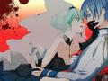 KAITO & Hatsune Miku - kaito wallpaper