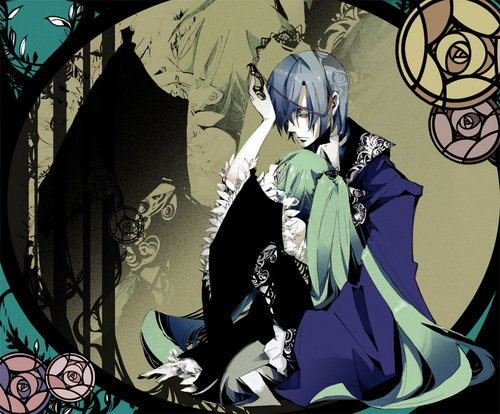 KAITO wallpaper probably with anime titled Kaito