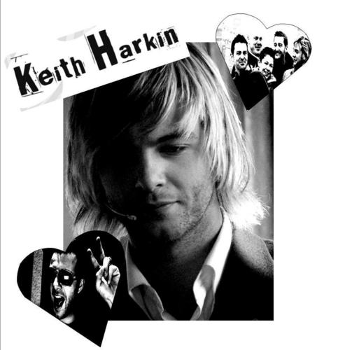 Keith Harkin fond d'écran probably with a newspaper titled Keith Harkin in Black and White