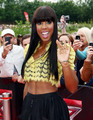 Kelly Rowland : X-Factor Auditions in Birmingham