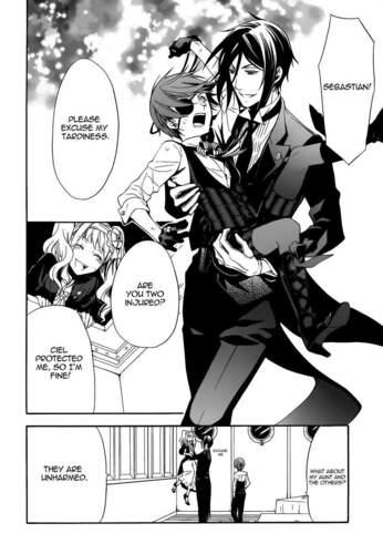 Kuroshitsuji Manga Scans - Chapter 57