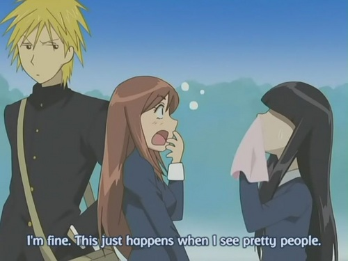 "Kyohei X Sunako [Yamato Nadeshiko Shichi Henge: Episode 2 - ""Pull Down The Iron Curtain!""] - kyohei-and-sunako Screencap"