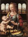 LEONARDO da VinciThe Madonna of the Carnation