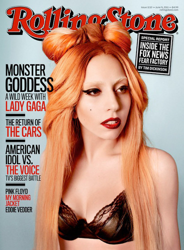 Lady Gaga Rolling Stones magazine covers