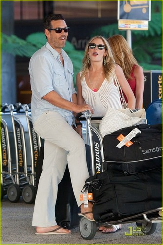 LeAnn Rimes & Eddie Cibrian: Back From Vacation