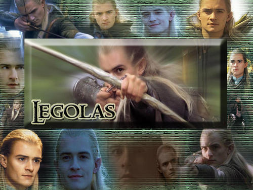 Legolas Greenleaf wallpaper entitled Legolas