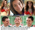 Lety Sahagun vs Chaska Borek - chicharito photo