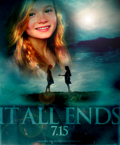 Lily Evans - Harry Potter and the deathly hallows part 2 poster