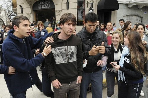 Lionel Messi in Rosario!