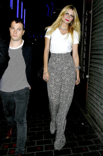 MIscha Barton at Box Nightclub