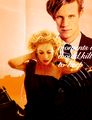 Matt Smith & Alex Kingston - the-doctor-and-river-song fan art