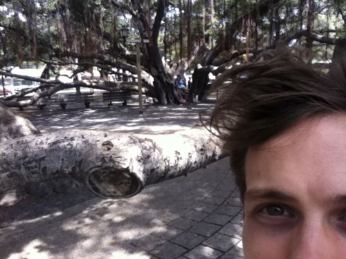 Matthew Gray Gubler In Hawaii