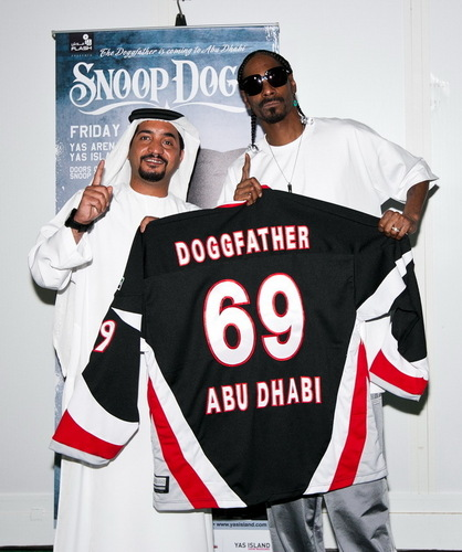 Me & Snoop in Abu Dhabi for real