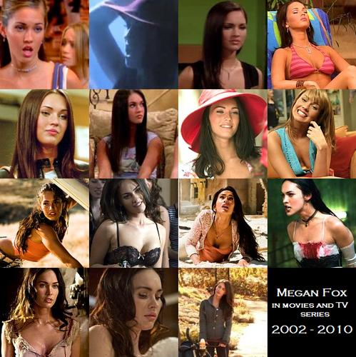 Megan fox, mbweha on the screen (2002 - 2010)