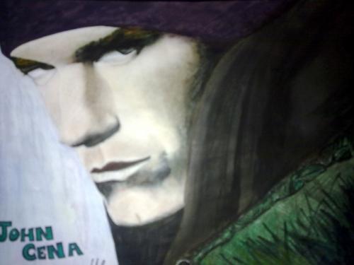My John cena Drawing