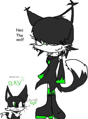 Neo the wolf and strahl, ray
