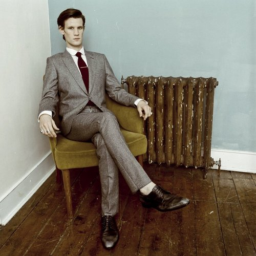 Matt Smith 壁纸 with a business suit, a well dressed person, and a suit entitled New 2011 Photoshoot