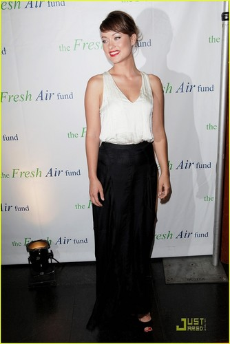 Olivia Wilde Honored bởi Fresh Air Fund