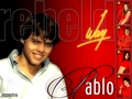Pablo Bustamante - rebelde-way wallpaper