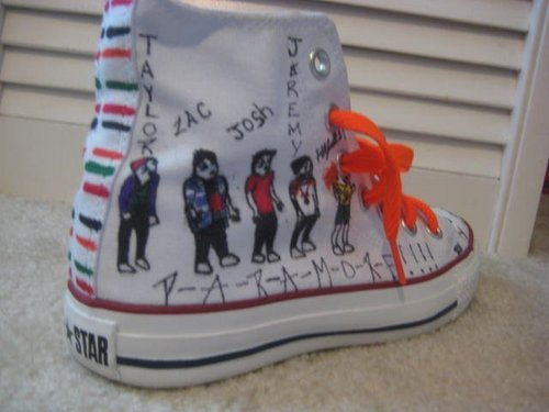 Paramore shoes<3