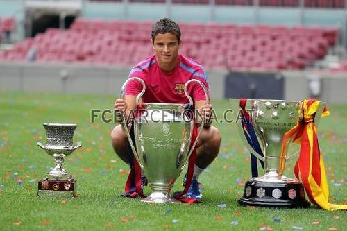 Pics with trophies