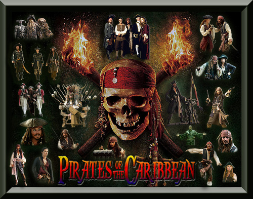 Pirates of the Caribbean Collage