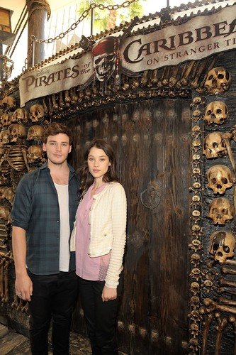 "Pirates of the Caribbean: On Stranger Tides"" Cast Visit Hot Topic Store"