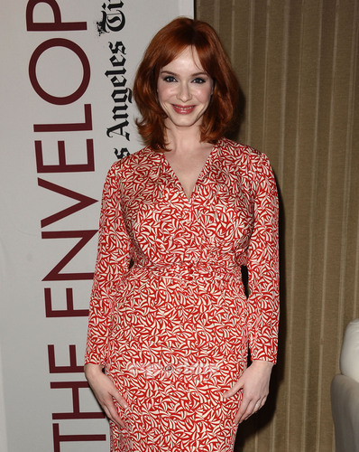 "Christina Hendricks images Primetime Emmy Screening of ""Mad Men"" HD wallpaper and background photos"
