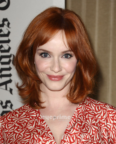 "Christina Hendricks wallpaper probably containing a portrait entitled Primetime Emmy Screening of ""Mad Men"""