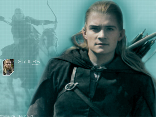 Legolas Greenleaf wallpaper possibly with a hood called Prince of Mirkwood