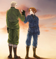 Promise me - hetalia-gerita photo