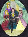 Pure-Blood Family Photo - astoria-greengrass-malfoy fan art