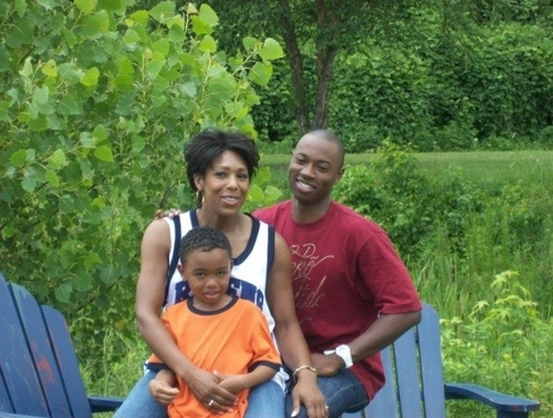 Quinton, Andre and mom