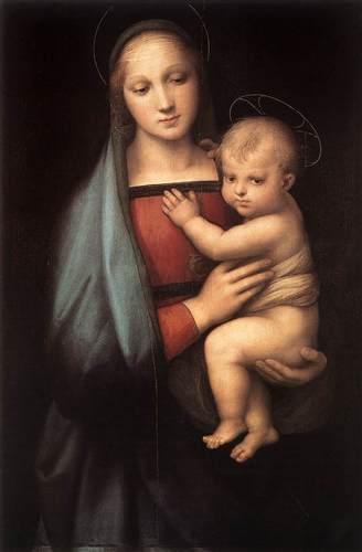 RAFFAELLOThe Granduca Madonna