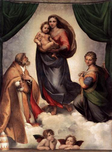 RAFFAELLOThe Sistine Madonna
