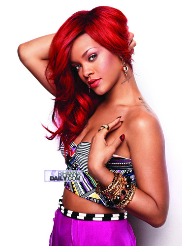 Rihanna wallpaper probably with a portrait called Rihanna - Photoshoot - Matt Jones for Cosmopolitan Magazine 2011