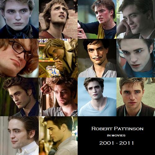 Robert Pattinson on the screen (2004 - 2011)