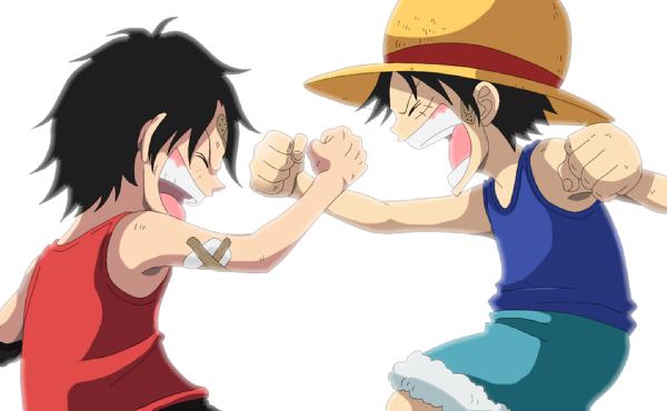 Ruffy & Ace - One Piece Photo (22510157) - Fanpop