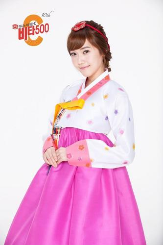 Girls Generation/SNSD wallpaper titled SNSD - Vita 500 with hanbok