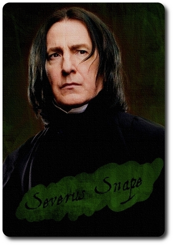 Severus Snape Character Card