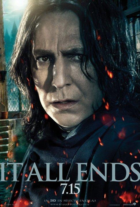 Severus Snape DH part 2 poster