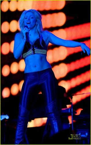 Shakira Shakes It in Barcelona
