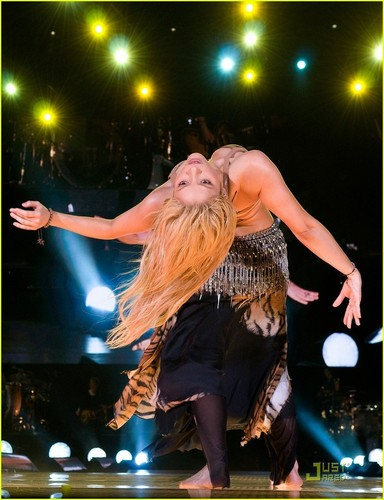 shakira Shakes It in Barcelona