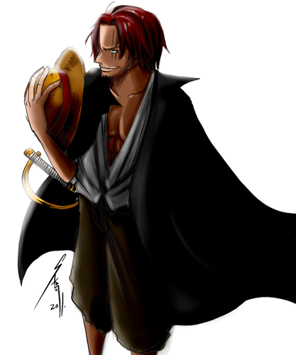 One Piece Wallpaper Called Shanks