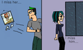 Sick Of Pretending... - total-drama-island fan art