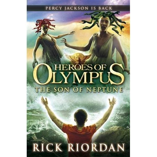 Son of Neptune, British cover