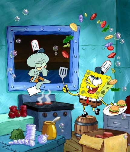 SpongeBob Art Cover